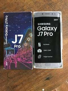 Samsung Galaxy J7 Pro Blue Silver