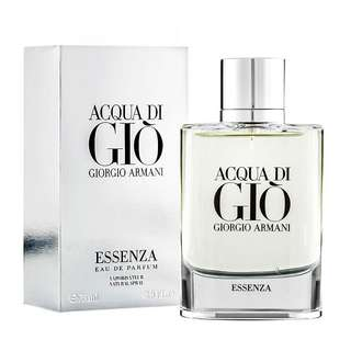 Giorgio Armani Acqua Di Gio Essenza EDP for Men (75ml/Tester) Aqua Eau de Parfum Silver