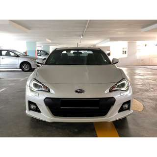 SUBARU BRZ 2.0 6AT ABS D/AIRBAG RWD 2DR HID