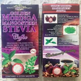 SALE: 3 boxes Mangosteen Stevia Coffee