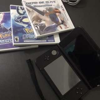 Nintendo 3ds XL black/blue RUSH!! Reprice