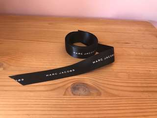 New Marc Jacobs black ribbin