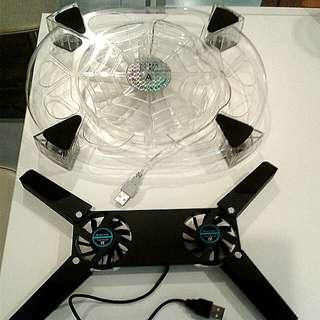 Laptop Cooler Fan 2 for $8