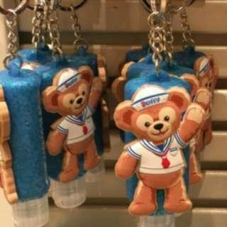 日本迪士尼購入 duffy達菲乾洗手吊飾