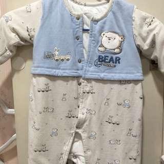 嬰兒12M冬天厚衣