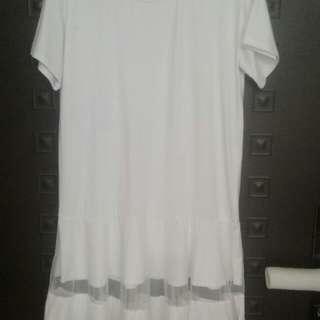 白色洋裝(9成新)