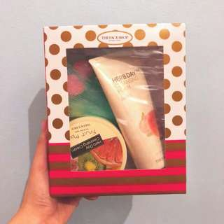 The Face Shop Set (Cleansing Cream Cleansing Foam) Authentic