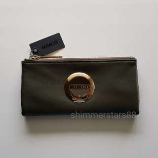 New! Mimco Mim Fold Wallet RRP$179.00 FREE POSTAGE
