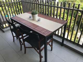Ikea Outdoor / Balcony dining table