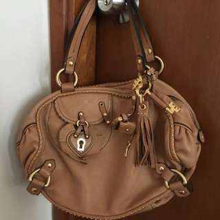 90% new Juicy Couture Brown Leather Bag