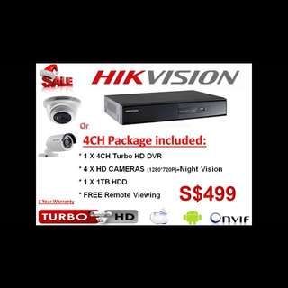CCTV PROMOTION PACKAGE