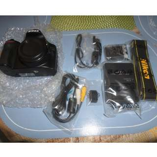 Nikon D3200 24.2MP DSLR AF-S DX Zoom-Nikkor FREE 18-55mm FREE 55-200mm FREE Bag FREE 16GB SD Card
