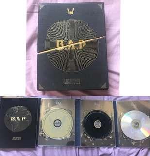 BAP PACIFIC TOUR DVD