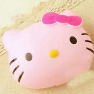 Hello Kitty Contact Lens Cover Case Set With Mirror - Pink