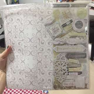Wedding Scrapbook Materials