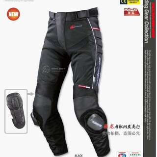 Komine PK708 PK-708 PK 708 pants trousers racing riding slider crash protection guards knee  suit