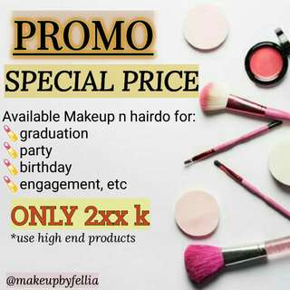 Makeup And Hairdo @makeupbyfellia