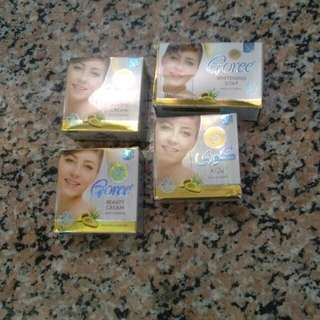 Goree Beauty Cream and Whitening Soap