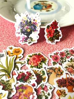 Flower Bouquets Scrapbook / Planner Stickers #92