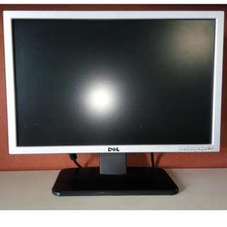 """DELL 19"""" Widescreen Monitor 16:9 Aspect Ratio Screen HDMI VDA DVI"""