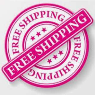 FREE Shipping for every 1500⬆️ worth of items😊