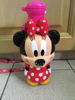 Hong Kong Disneyland Minnie Mouse water bottle