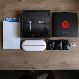 CHEAP Pre-loved UrBeats 2 Earphone Rose Gold by Beats Dr Dre