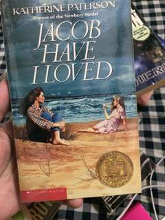 Jacob I Have Loved by Katherine Paterson and Skipping Christmas by John Grisham
