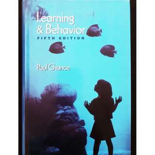 Learning and Behavior (5th Edition) (Used)