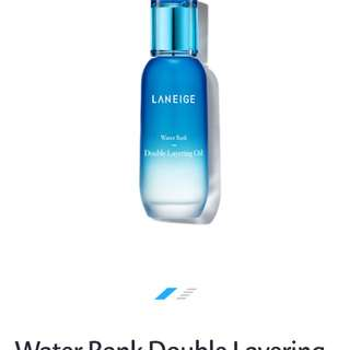 Laneige double layering oil
