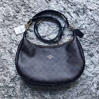 Coach Signature Harley East/West Hobo Bag (Authentic)