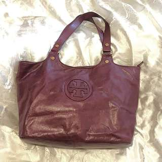 Authentic Tory Burch handbag 紫色 手袋