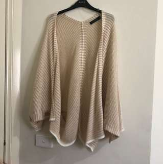 Glassons poncho cardigan size 10