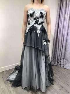 黑色晚裝裙