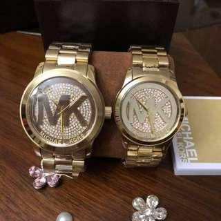 Mk watch mk logo