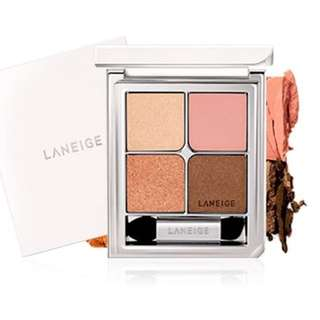 laneige ideal shadow quad in tangled tangerine