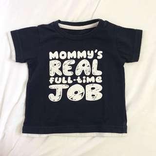 Mom Statement Shirt 12m