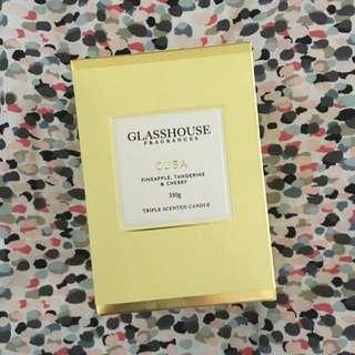 Glasshouse 350g 'Cuba' Candle
