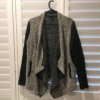 Bardot waterfall jacket