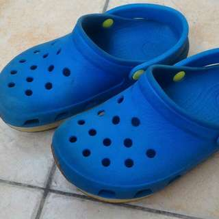 Authentic CROCS (limited edition)  for boys, fits 4 to 6 years old