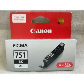 50% Discounted BNIB Canon Pixma 751 Black Ink Cartridge