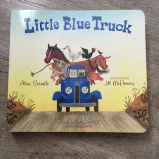 *new* Little blue truck (board book)