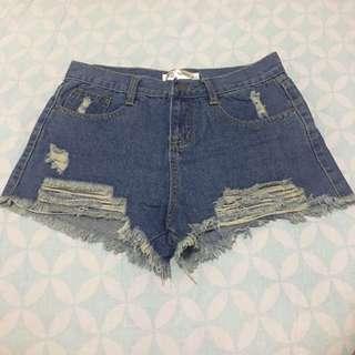 Hotpants highwaist crop Miss A
