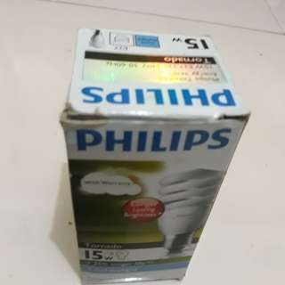 Lampu philips 15 wat