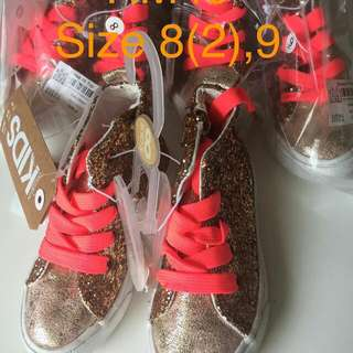 Cotton On Glitter Highcut Shoes