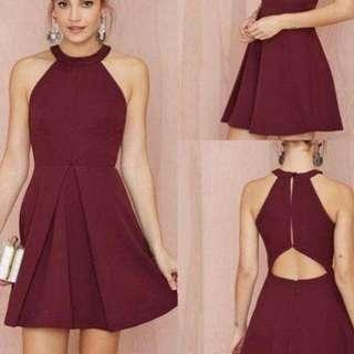 NEW mini dress halter