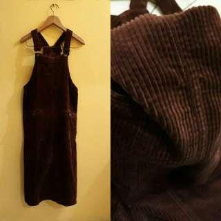 (READ DESCRIPTION) Korean maroon outer/ outwear/ jumpsuit/overall  rok