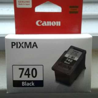 Canon Pixma 740 Black ink cartridge