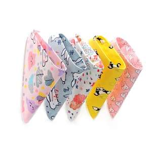 Baby Bandana Bib - Cute Animals 1803