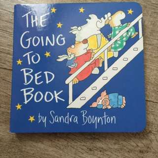 *new* the going to bed book